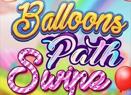 Balloons Path Swipe